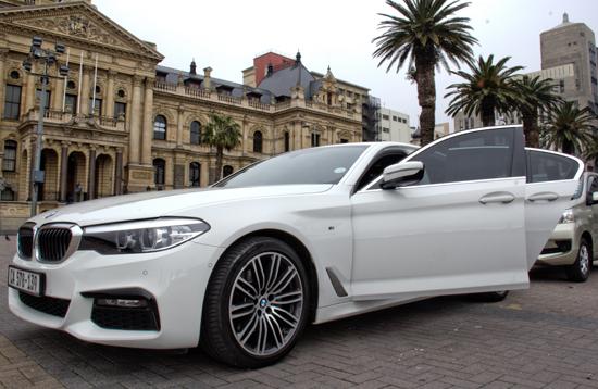 premium luxury chauffeur drive service in Cape Town